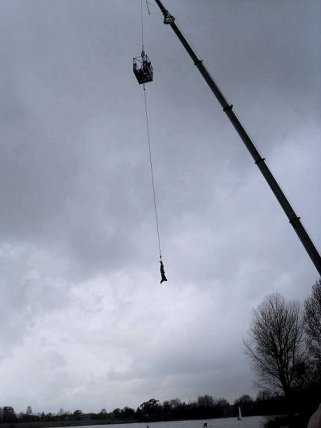 Bungee jump at Windsor
