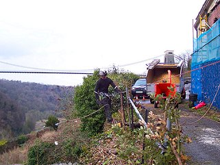 Tree felling by Smart Trees Bristol Tree Surgeon in Clifton