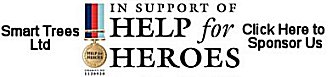 Smart Trees Ltd Bristol Tree Surgeons supporting Help For Heroes